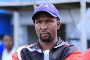 Ushuru FC coach Ken Kenyatta