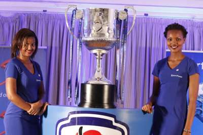 SportPesa Premier League on Friday unveiled a brand new trophy that will be presented to champions Gor Mahia on Sunday