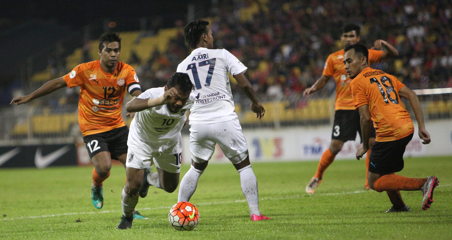 Felda United vs Johor Darul Ta'zim