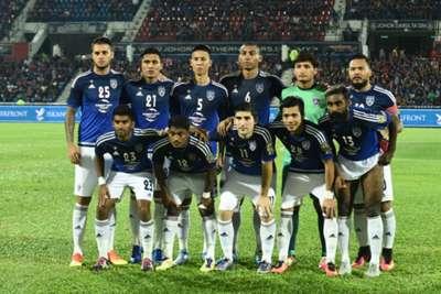 Johor Darul Ta'zim's starting XI against PKNS 2016