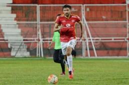 T-Team FC's Dilshod Sharofetdinov 2016