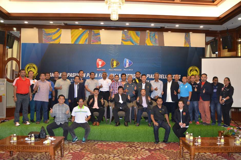 FAM Cup, President's Cup, Belia Cup draw