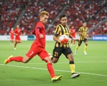 Malaysia's Nazirul Naim tracking Singapore's Gabriel Quak