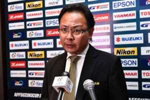 Malaysia head coach Ong Kim Swee