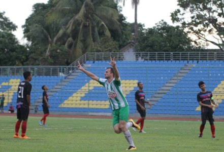 Melaka United's Ilija Spasojević 2016