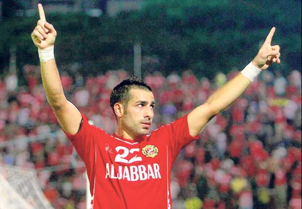 Mohamad Ghaddar while playing for Kelantan in 2014