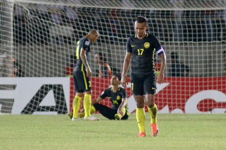 Malaysia's Amri Yahyah disappointed after losing to Myanmar - 2016 AFF Suzuki Cup 27/11/16