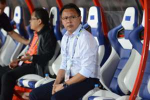 Malaysia's Ong Kim Swee during the match against Myanmar - 2016 AFF Suzuki Cup 26/11/16
