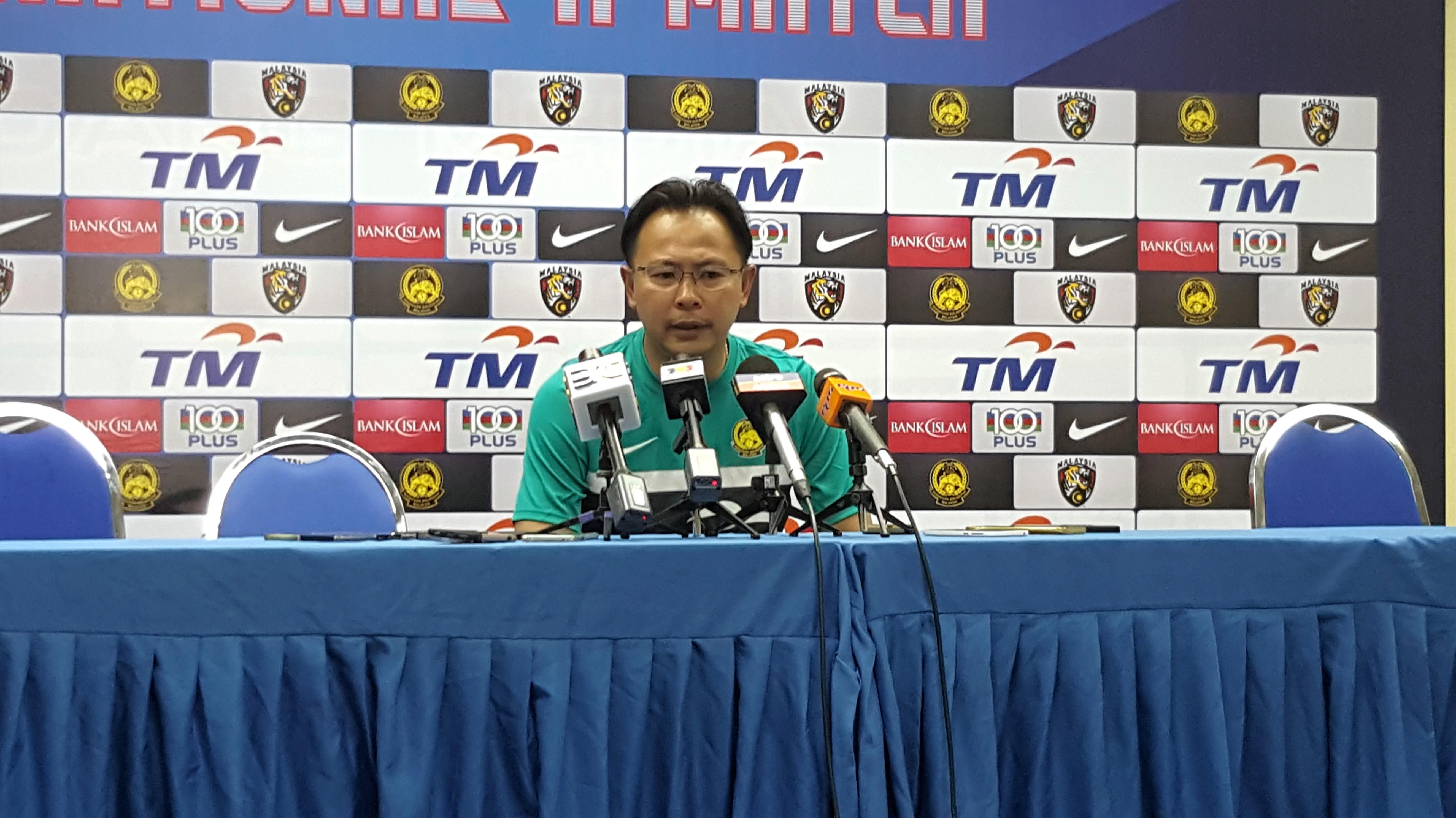 Malaysia head coach Ong Kim Swee 14/11/2016