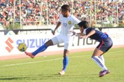 Amri Yahyah in the Malaysia v Cambodia match - 2016 AFF Suzuki Cup 20/11/16
