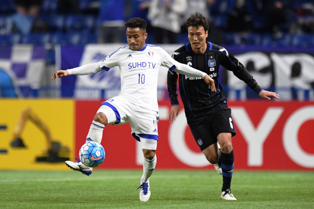 Suwon Samsung Bluewings vs Gamba Osaka 2016 AFC Champions League