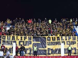 Malaysia fans against Timor Leste 2016