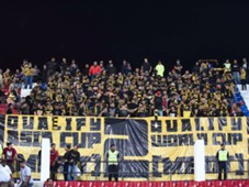 Malaysia fans against Timor Leste 2016