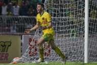 Kedah's Thiago Augusto Fernandes celebrates his goal against Perak 10/9/2016