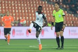 Makan Konate in action against Felda United