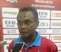 Melaka United head coach Mat Zan Mat Aris 2016