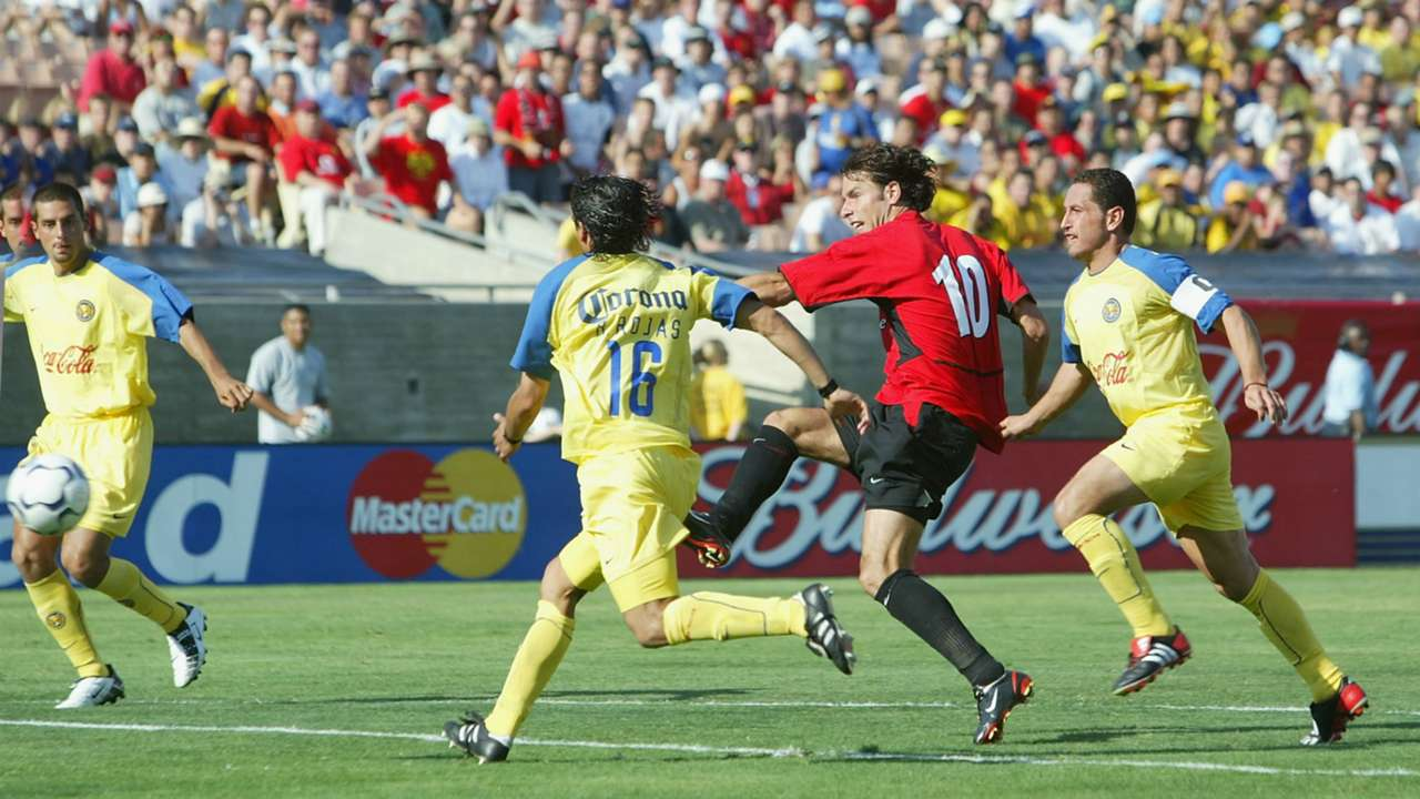 América vs Manchester United 2003