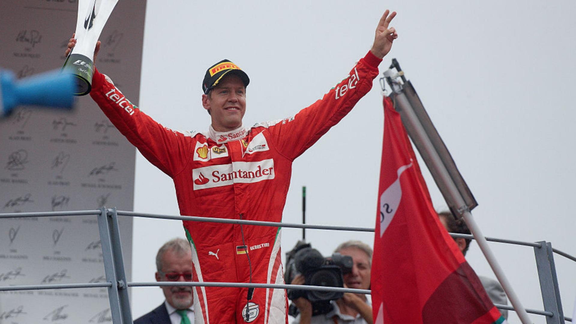 Sebastian Vettel 211016