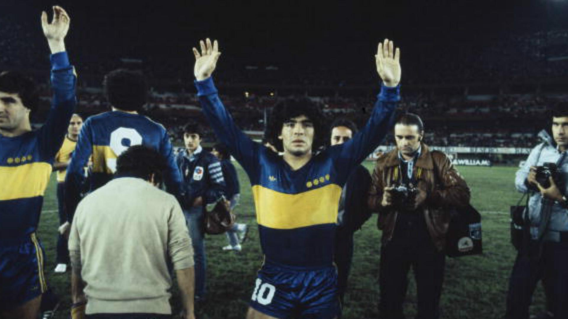 Diego Maradona, Boca Juniors, 040316