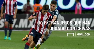 10 Extranjeros Chivas Liga MX 26082016