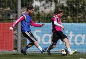 Sergio Ramos y Modric