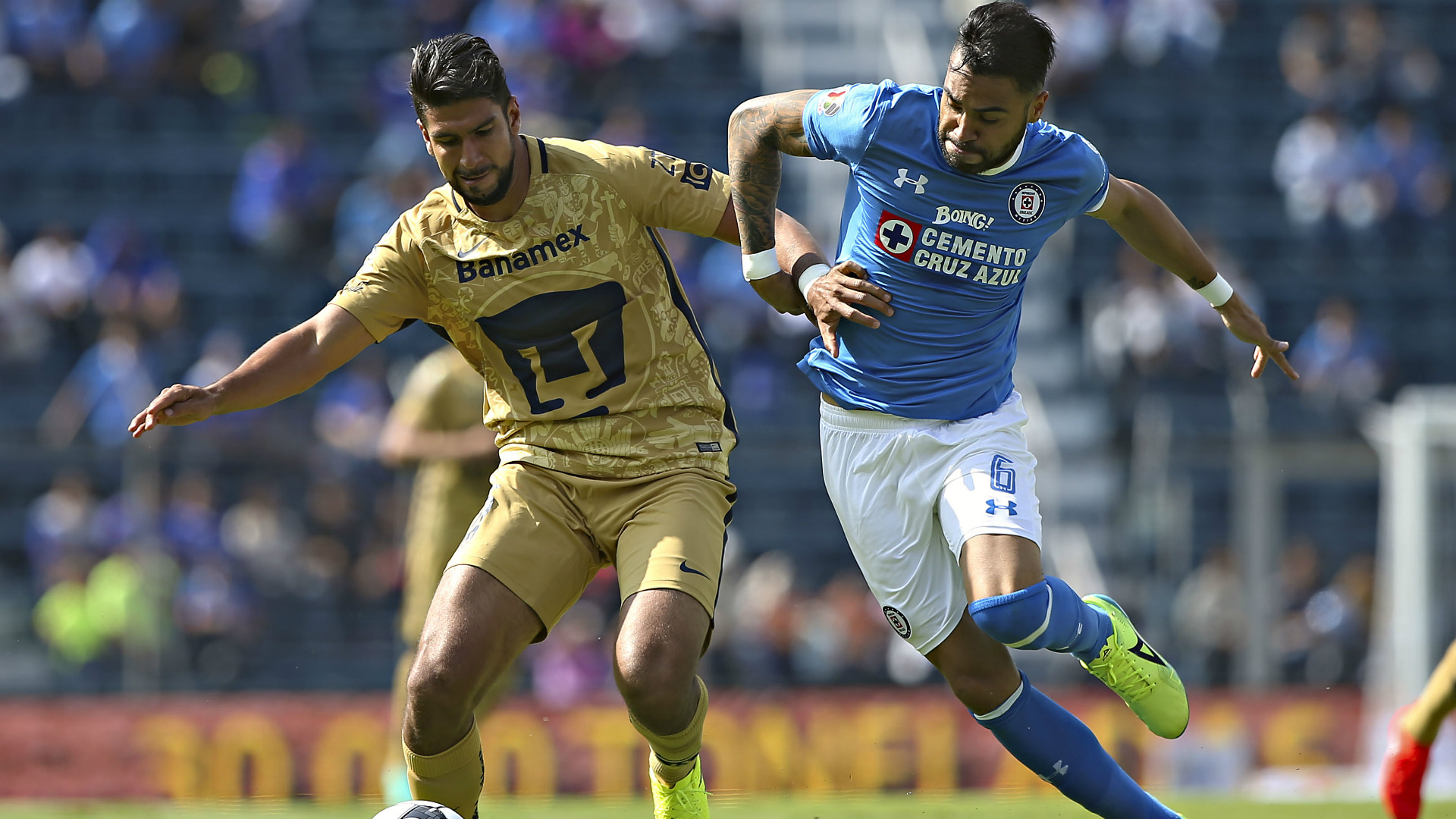 Eduardo Herrera, Pumas UNAM, Liga MX, Apertura 2016, 170816