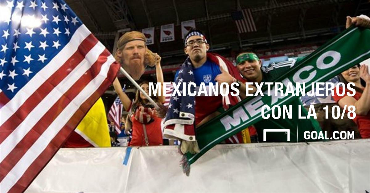 Los mexicanos 'extranjeros'