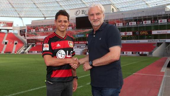 Javier Hernandez al Bayer Leverkusen
