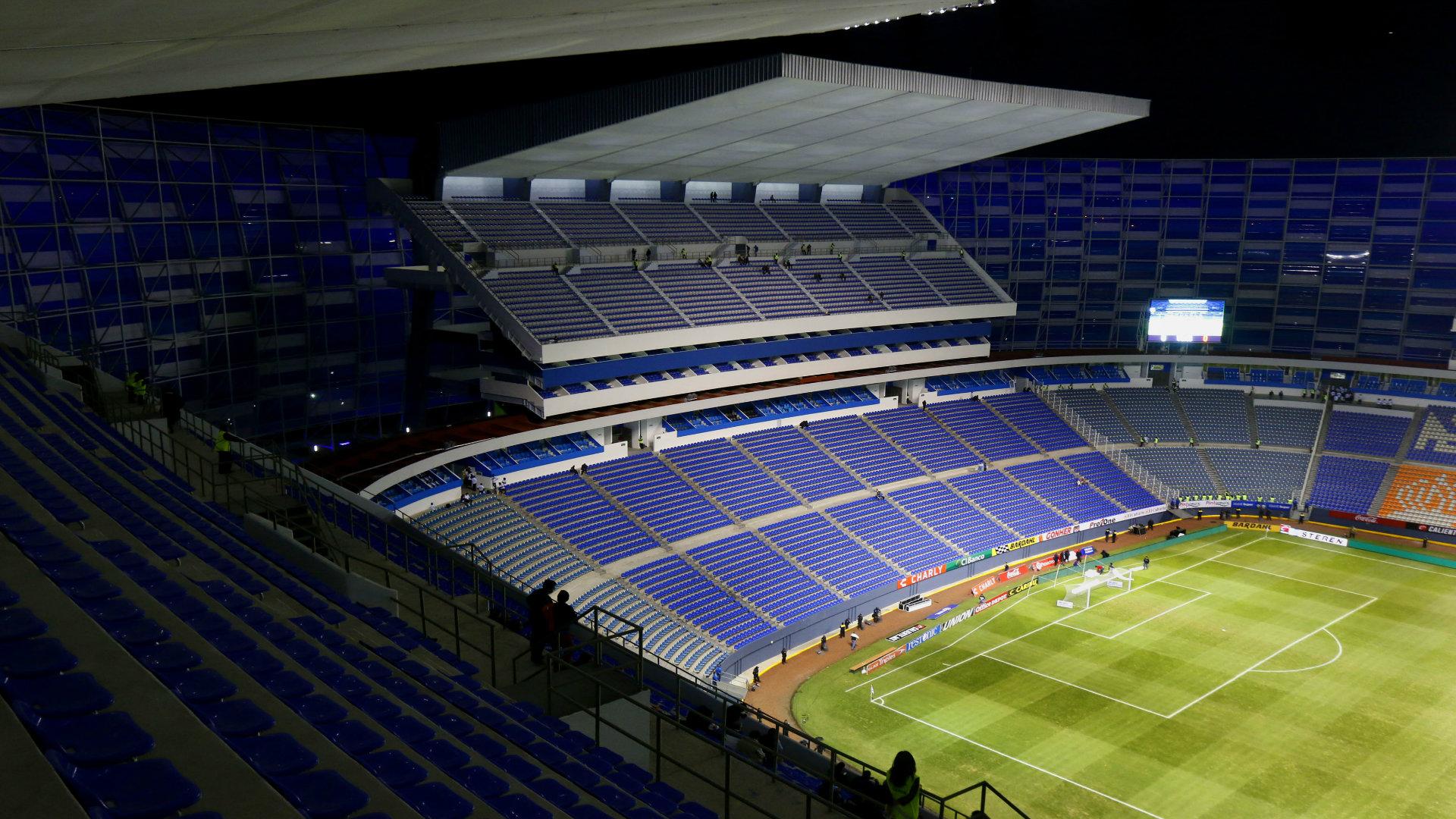 Estadio Cuauhtémoc en Puebla