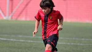 Luka Romero Mallorca 090816