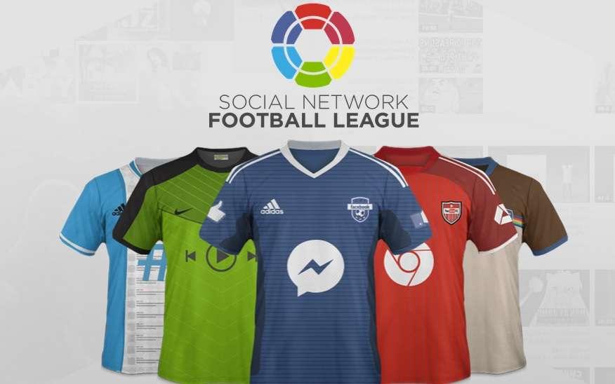 Social Network Football League