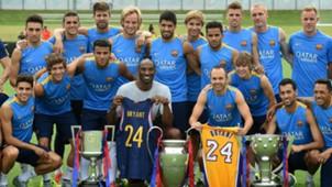 FC Barcelona Kobe Bryant 01072015