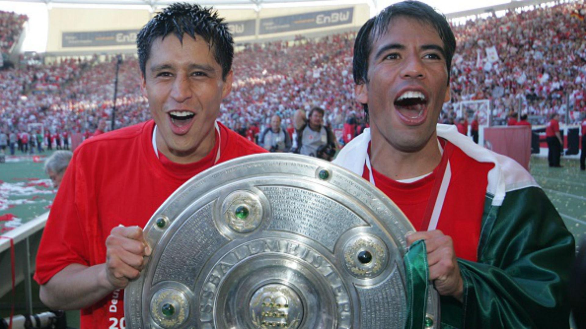 Ricardo Osorio Pavel Pardo Stuttgart Bundesliga