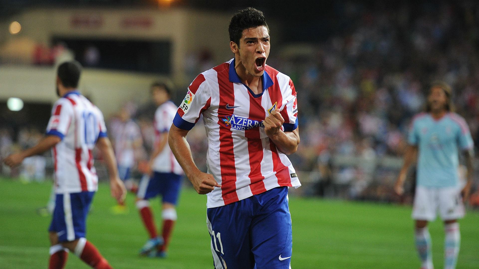 Raúl Alonso Jiménez Atlético de Madrid 2014/2015