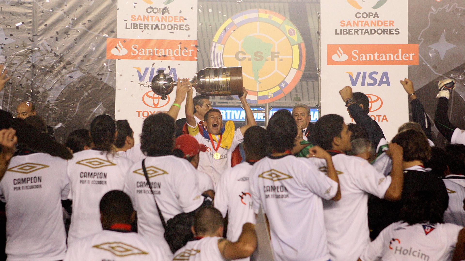 Liga Deportiva Univetsitaria de Quito Copa Libertadores champions 2008