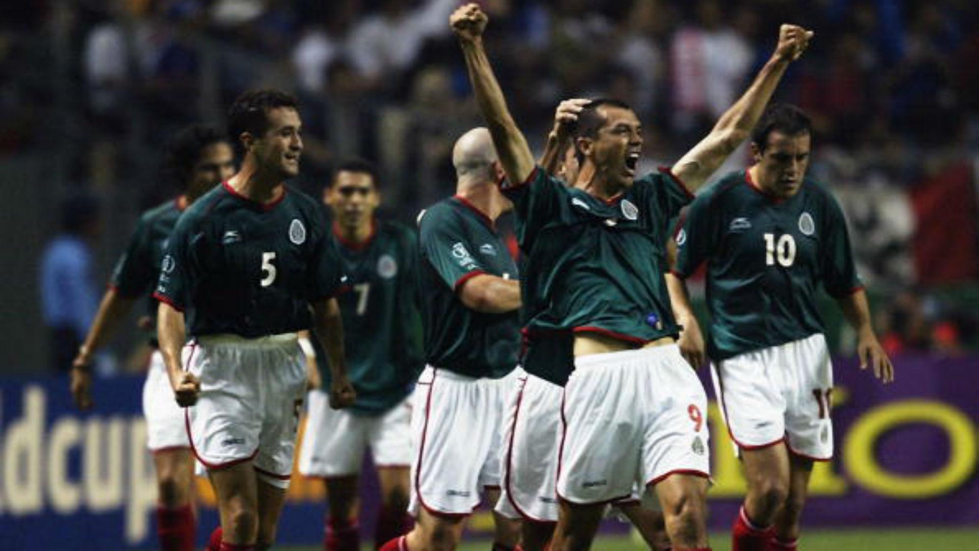 México Italia Corea Japón 2002 Jared Borgetti