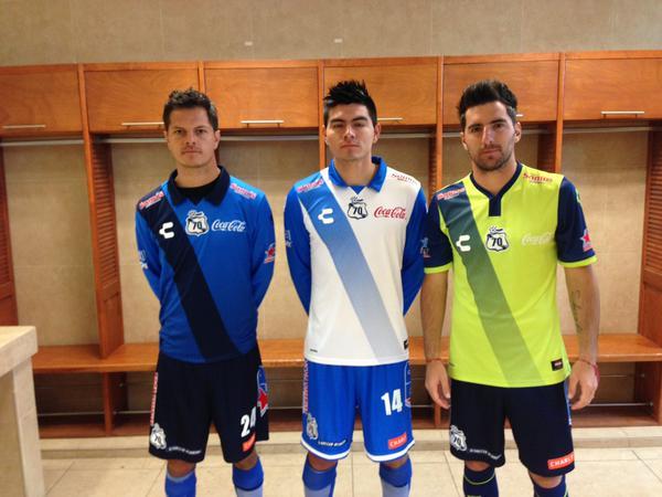 Nuevos uniformes Puebla