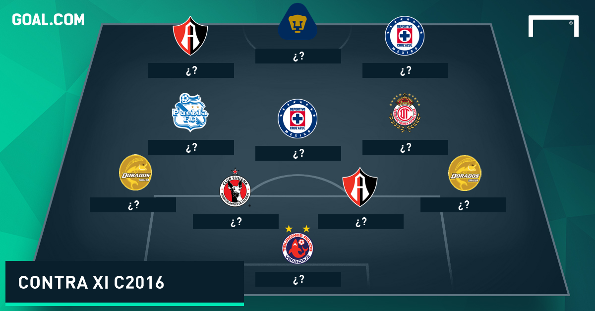 Contra XI Clausura 2016