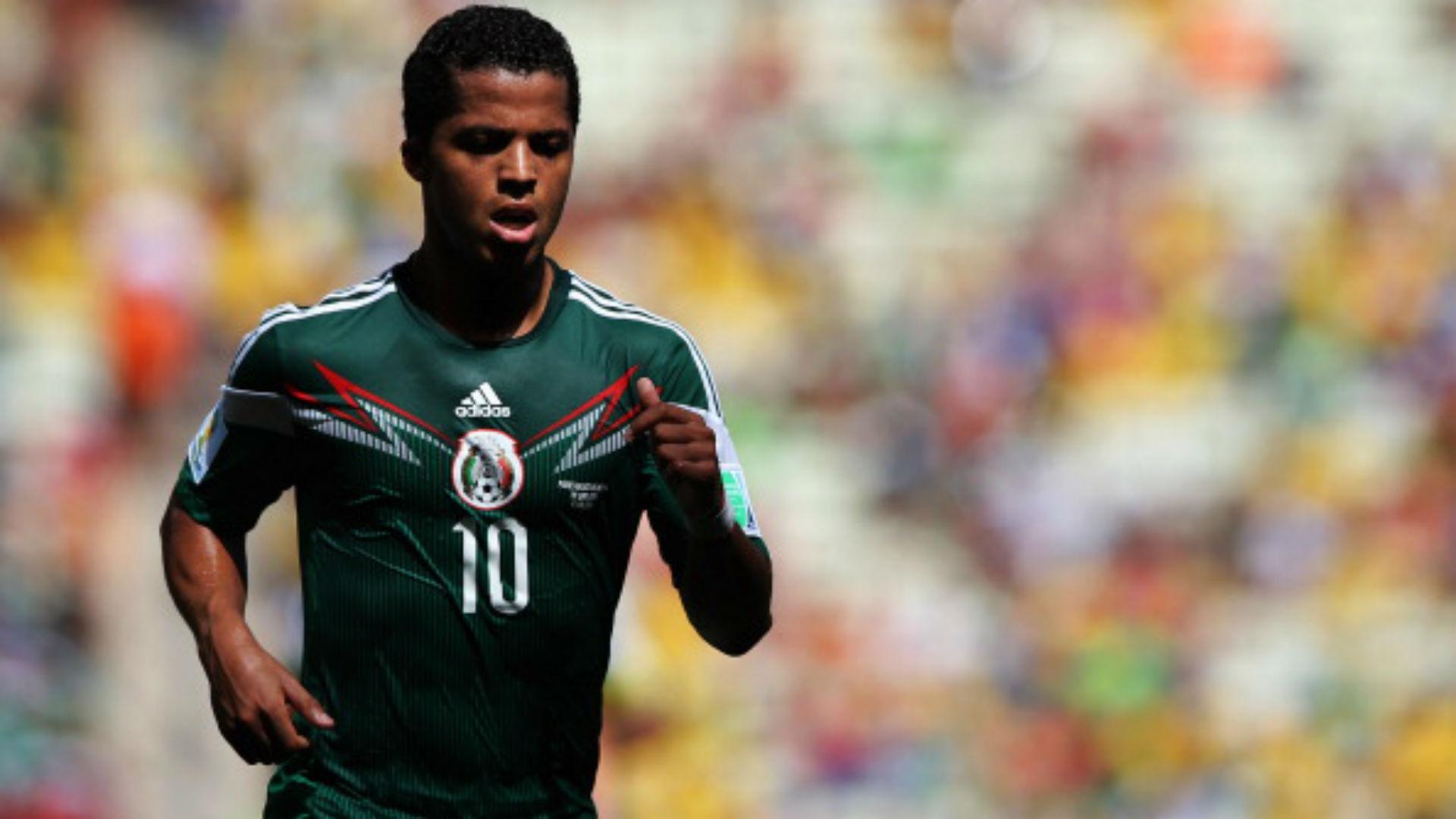 Selección de México Giovani Dos Santos