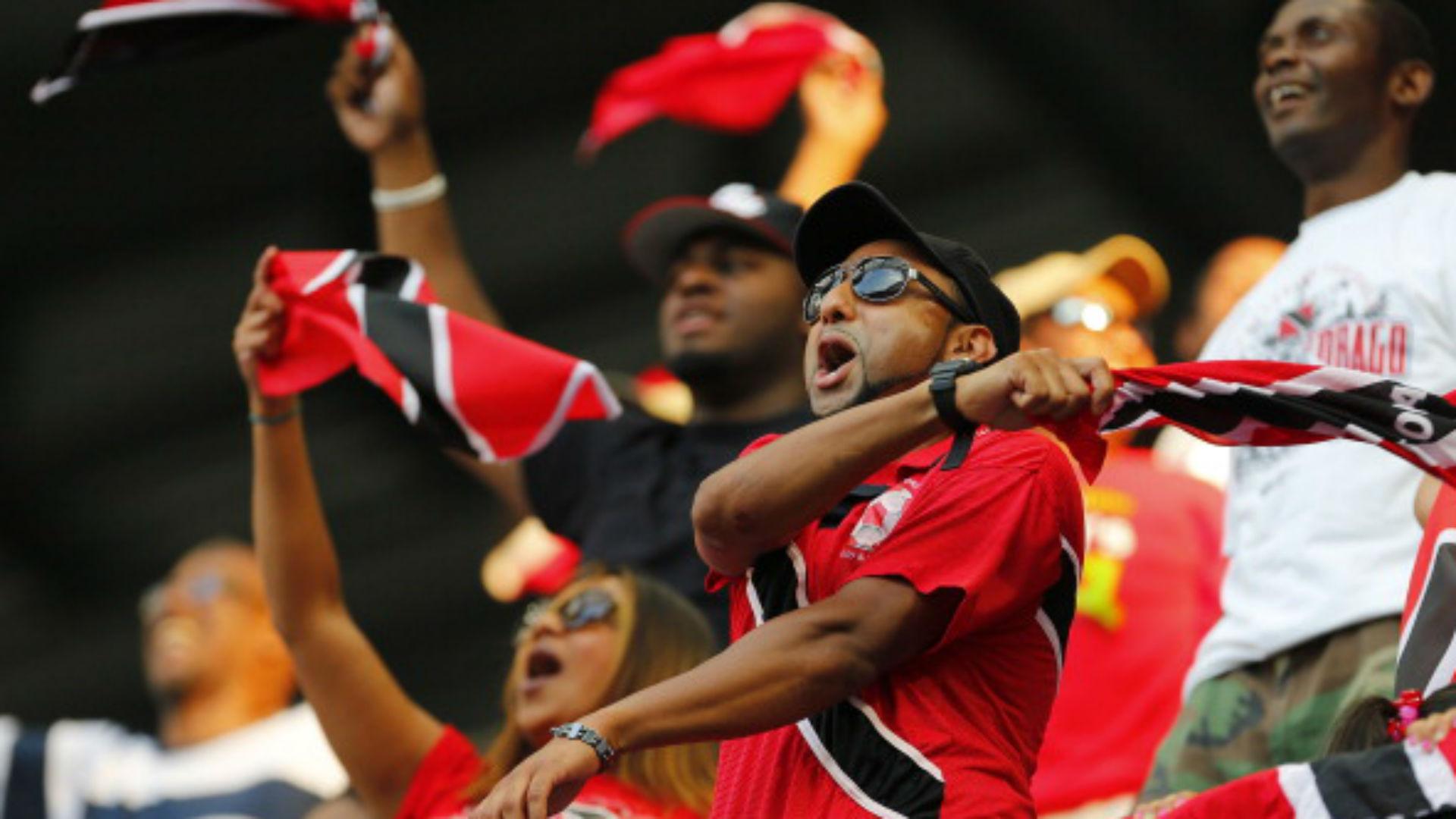 Trinidad y Tobago fans Copa Oro
