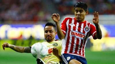 América Chivas Clausura 2016 Osmar Mares Javier Chofis López