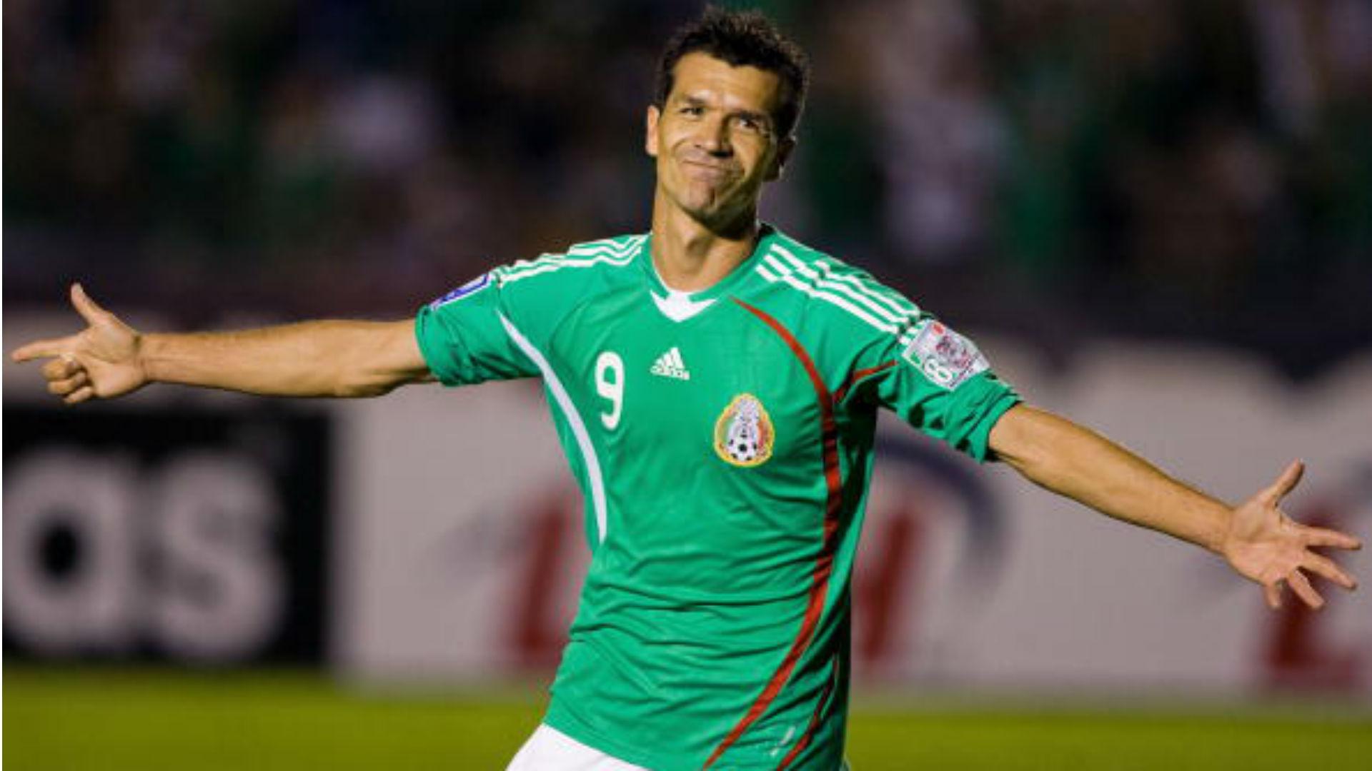 México XI Ideal Copa América Jared Borgetti