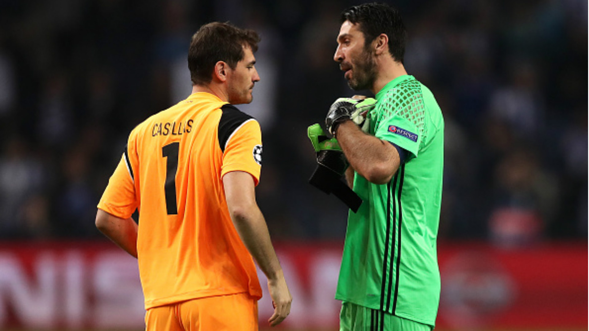 Casillas a Buffon: