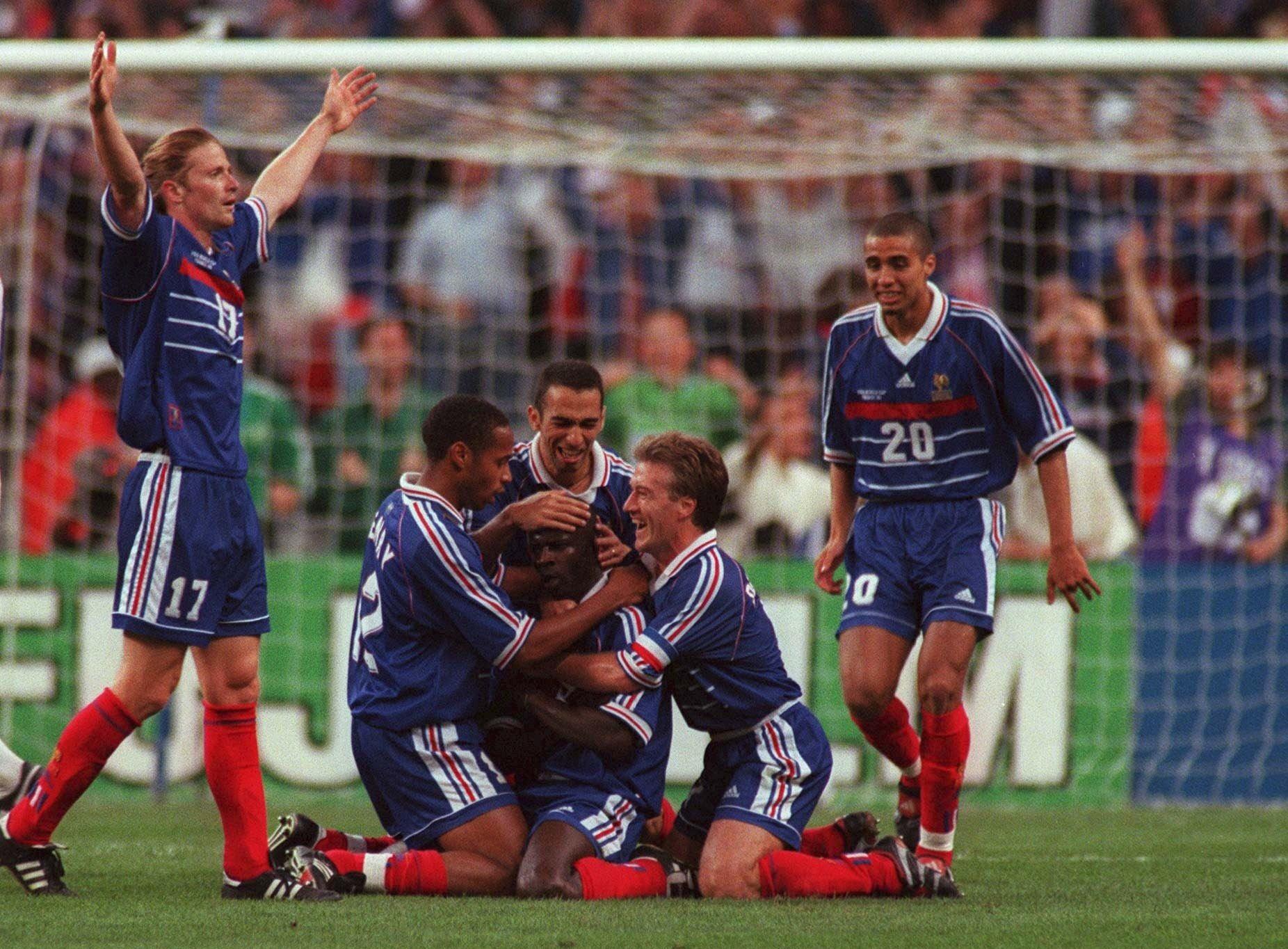 Trezeguet Francia 98