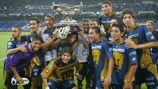 Pumas ltimo equipo en vencer al real madrid en el trofeo for Ultimo partido del real madrid