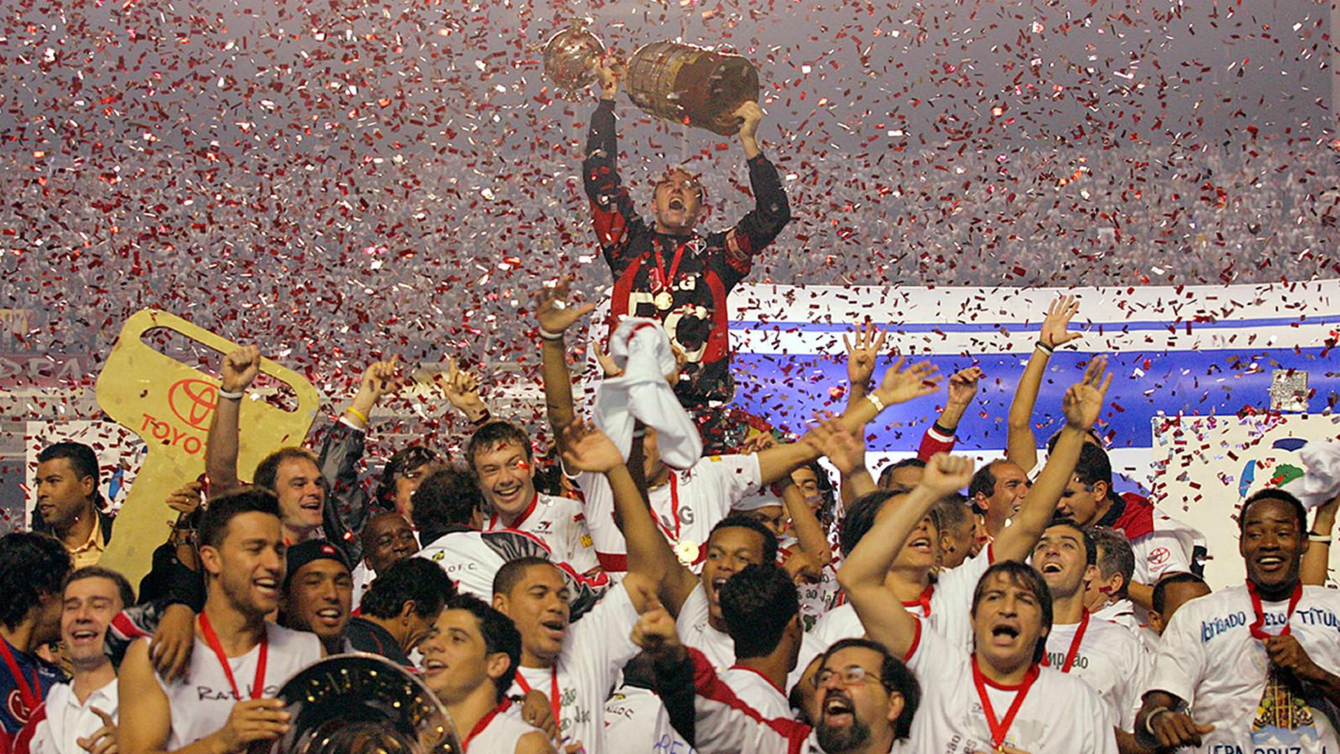 Sao Paulo Copa Libertadores Champions 2005