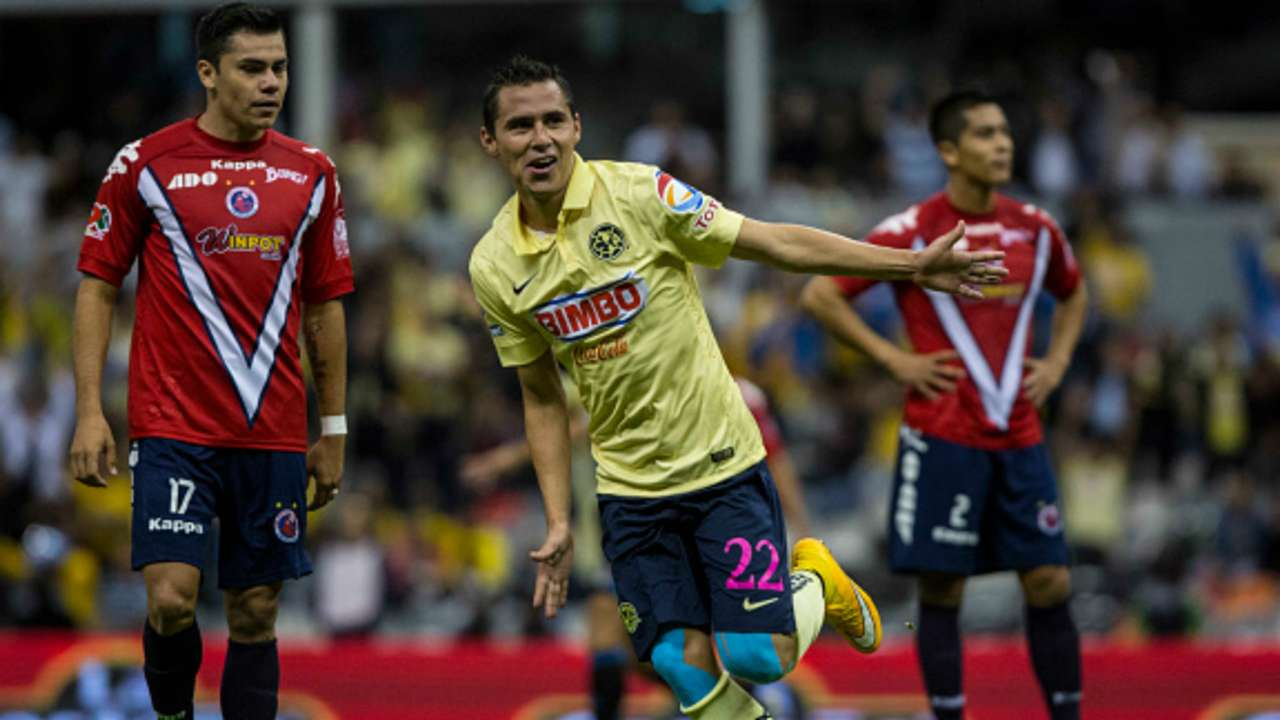América vs Veracruz Paul aguilar 01102014