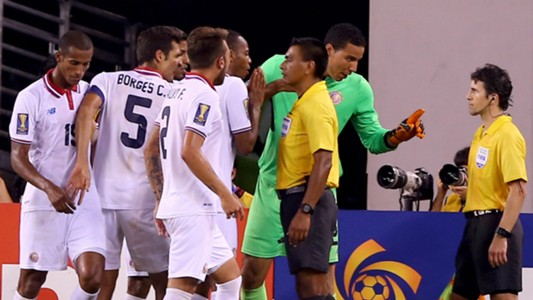 Costa Rica - Mexico Walter Lopez referee - Gold Cup 07192015