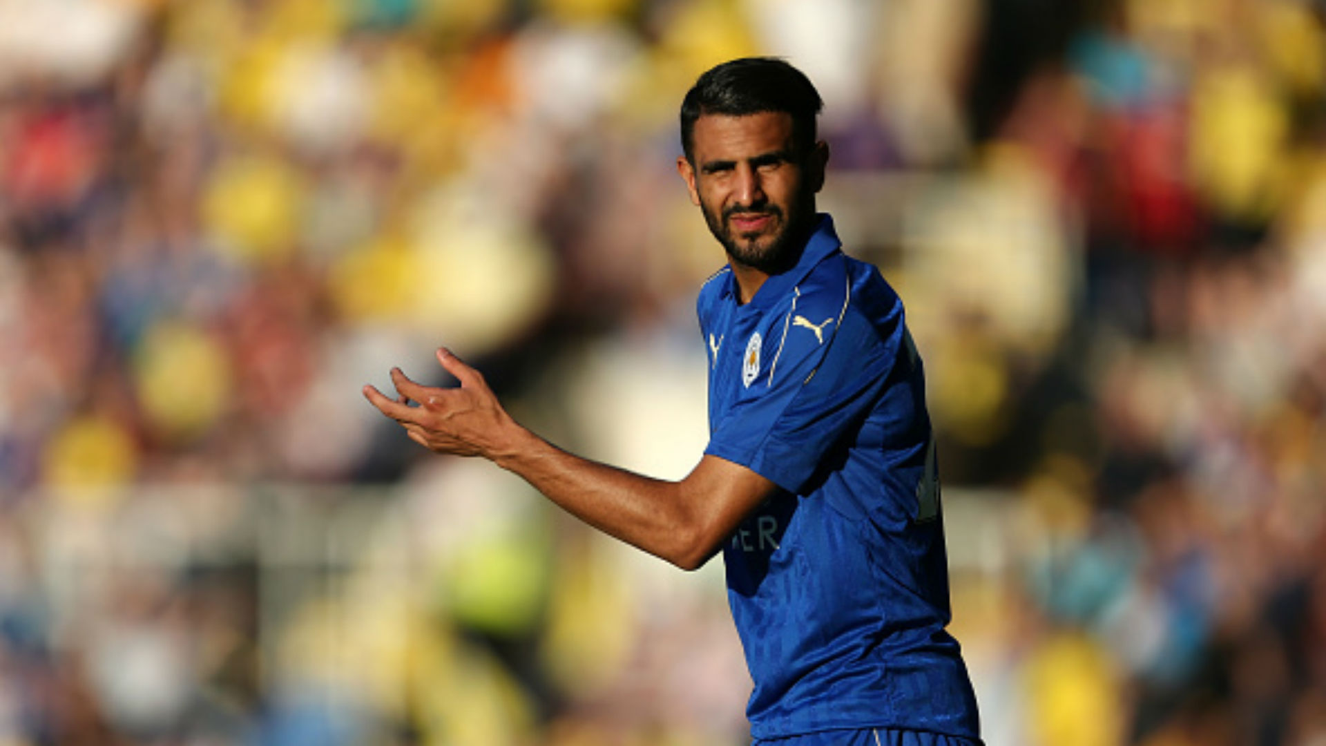 Riyad Mahrez Leicester City Friendly Match Partido Amistoso Oxford 22072016