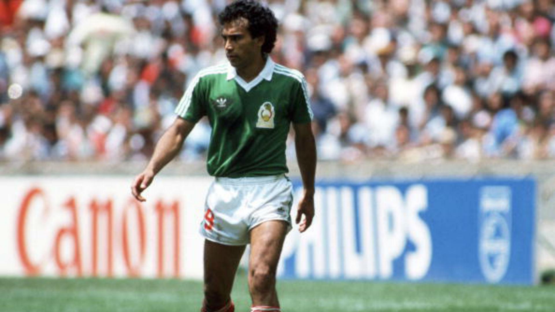 Hugo Sánchez México 1986 Copa del Mundo
